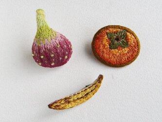 【AKKO様専用】実りの秋ブローチセットの画像