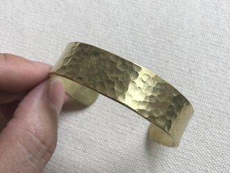 【受注生産】真鍮のバングル15 HTの画像