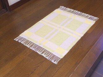 手織りマット W×Y 幅53cmの画像