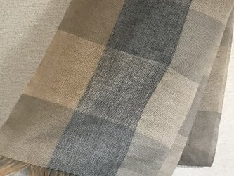 手織りストール A2の画像