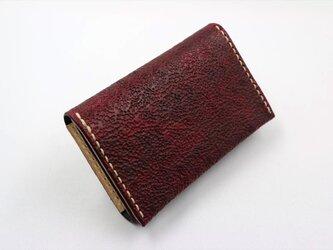 カードケース(ワインレッド)の画像