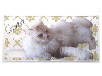 オーダーメイド スマホケース ハードケース オリジナル ペット 犬 猫 うちの子 メモリアル プレゼント メンズ レディースの画像