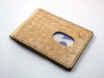 ICカードケース(ナチュラル)の画像
