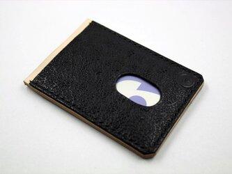 ICカードケース(ブラック)の画像