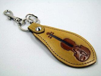 靴べらフォルダー(バイオリン)タンの画像