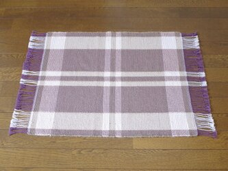 手織りマット O×B 幅53cmの画像
