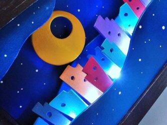 Star Line ~星と摩天楼の光のラインの画像
