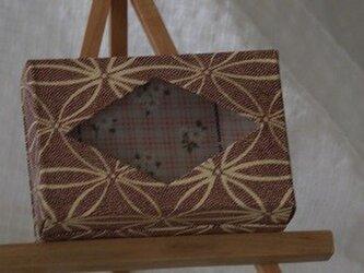 ポケットティシュの箱の画像