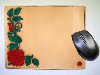 マウスパッド(バラ)の画像
