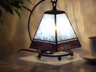 小さなランプ・スクエア(ラベンダー)の画像
