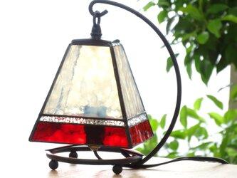 小さなランプ・スクエア(真紅)の画像