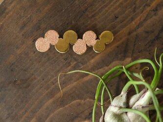 真鍮ブローチ marutwist B019の画像