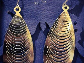 【水に強い、わずか5グラムのペーパーピアス】ムール貝の画像