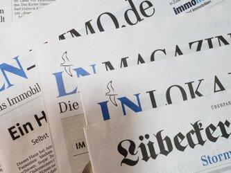 germany 地方新聞(ドイツ語) 2部setの画像
