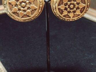 ヴィンテージコイン イヤリングの画像