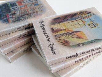 ワックスペーパーの文庫本カバー よりどり2枚 風景画2の画像
