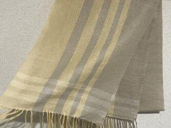 手織りストール A3の画像