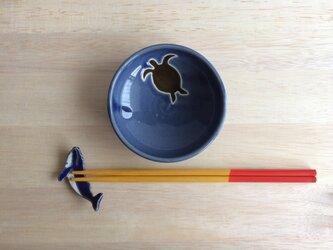 ウミガメ小皿の画像