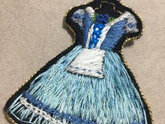 バレエ衣装のバッグチャーム ジゼルの画像