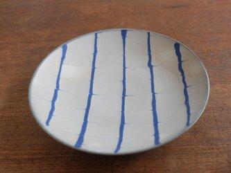 スリップ 7寸皿の画像