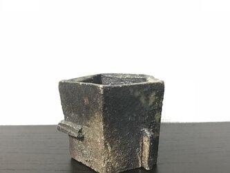 焼締ぐい呑 KAKUKAKUの画像