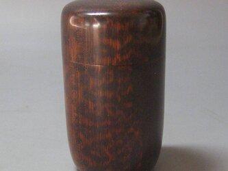 スネークウッド 拭き漆仕上げ 長棗の画像