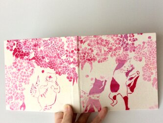 2019「桜猫又」スケジュール手帳の画像
