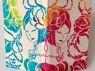「椿姫」スケジュール手帳の画像