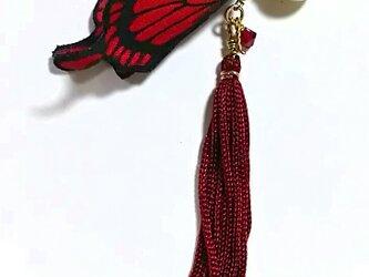 U様、オーダー分 蝶のピアスの画像