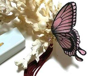 蝶のピアス 大(アゲハ)の画像