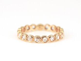 Rosecut Diamond Eternity Ringの画像