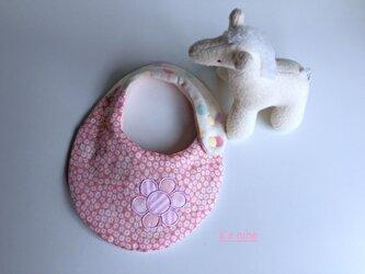 *8重ガーゼスモールスタイ・OHANA*ピンク小花の画像