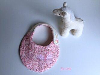 *8重ガーゼスモールスタイ・CHOUCHO*ピンク小花の画像