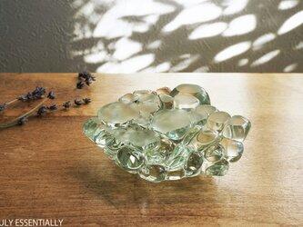 【 SOLD OUT 】ガラスのインテリアオブジェ -「まるいガラス」#303 ● 8cmの画像