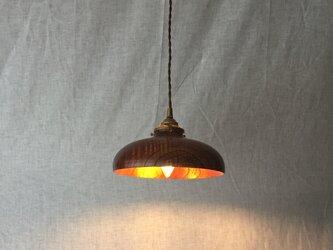 【N様ご依頼】木と漆のランプ 栴檀 (sd7)の画像
