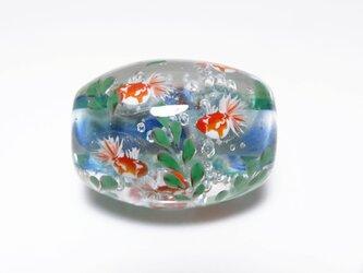 金魚のとんぼ玉(ガラス玉)の画像