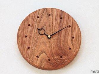 クルミの壁掛け時計 16の画像