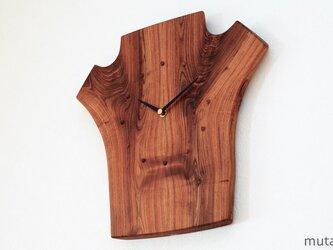 エンジュの壁掛け時計4の画像