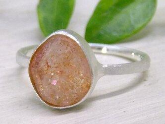 サンストーン原石*925 ringの画像
