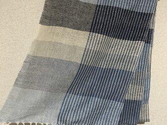 手織りストール A6の画像