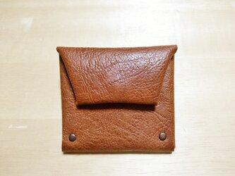 背ポケット付きコインケースの画像