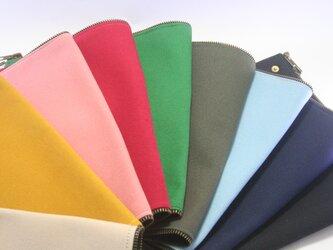 【帆布新色追加】Lamtana-ランタナ- レザー&帆布 着せ替えミニショルダー トートバッグ 帆布パーツの画像