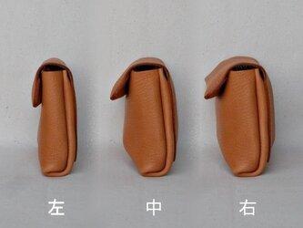 ポーチ 茶の画像