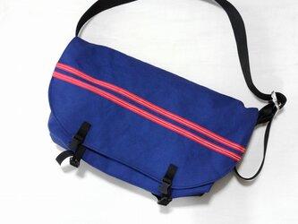 メッセンジャーバッグ クラシック 濃青の画像