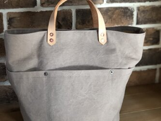 army duc round  bag M grayの画像