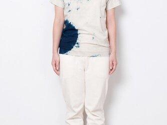 藍染 Tシャツ size1 白影丸の画像