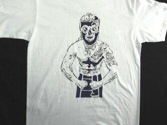 レスラーNemo Tシャツ 手でペイント 風合いある★こだわり★Tシャツ <受注生産>の画像