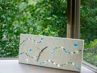 ビー玉の置き時計、掛け時計-5の画像