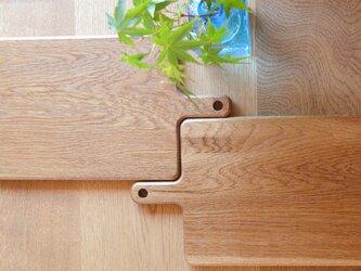 【再販】フラットなカッティングボード (Mサイズ) cutting board - フラット -0021' a楢 (オーク)の画像