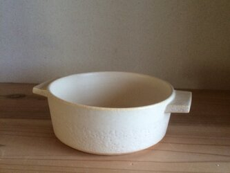 耐熱白グラタン皿の画像